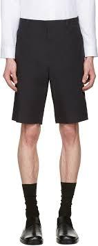 Jil Sander Blue Cotton Shorts Men Jil Sander Navy Size Chart