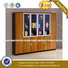 customized foshan muanufacture 4 glass door office cabinethx 8n1548 suppliers manufacturers factory direct whole hengxing