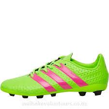 adidas ace 16 4 fxg football boots solar green shock pink core black boys 07qcah