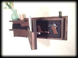 Hidden Gun Coat Rack Beauteous Choose Color Hidden Gun Storage Secret Compartment Coat Key Etsy