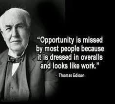 Thomas Edison Health Quote And Thomas Edison Opportunity Is