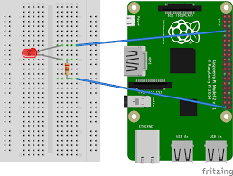using raspberry pi mode mode led wiring