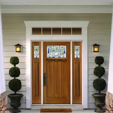 craftsman front door sidelight
