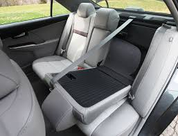 2016 toyota camry xle rear seat folds down