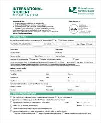 student application template example of a application form under fontanacountryinn com
