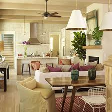Open Floor Plan Living Room Decorating Small Open Plan Living Dining Kitchen Ideas Modern Apartment With