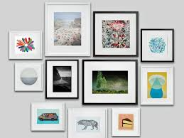 black white gallery wall picture frame on wall art gallery frames with how to bring framed art into the home d cor aid