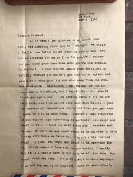 A Lost Love Letter Finds Its Recipient After 72 Years Wtkr Com