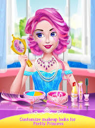 sweet rainbow salon princess makeup game free of android version m 1mobile
