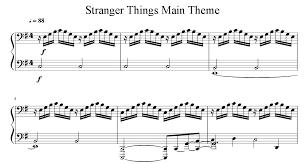 «<b>Stranger Things</b>»: ноты для фортепиано | NotaDo