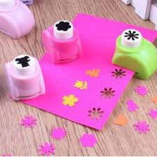 Flower Paper Punch Tool Mini Scrapbook Punches Handmade Cutter Card Craft Calico Printing
