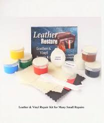 use the 3m leather and vinyl repair kit images