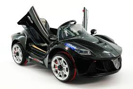 This ferrari style powered vehicle is a great ride on car with parental remote control. Spider Gt Kids 12v Ride On Car With R C Parental Remote Black