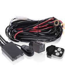led light bar wiring harnesses wireless wired uncle wiener's www amzn orders at Light Bar Wiring Harness Bulk