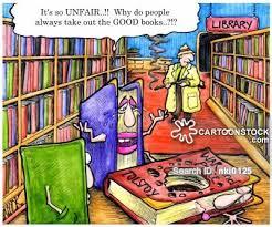 library books cartoon 7 of 157