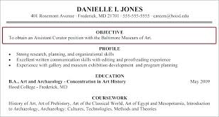 Resume Purpose Statement Examples General Objectives Simple