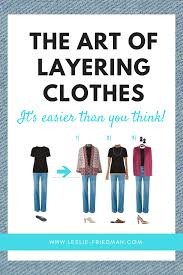 how to layer women s clothing