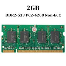 which early dimm form factor applied to laptops 2gb ddr2 pc2 4200 533mhz non ecc dimm memory ram 200 pin 1 8v system