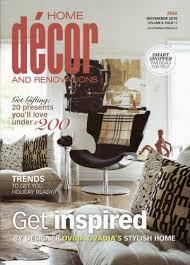 Small Picture Home Decor Magazines Markcastroco
