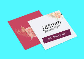 148mm Square Flyers
