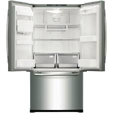 white french door refrigerator. Samsung 583L French Door Refrigerator White
