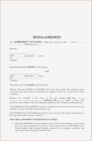 Simple Rental Agreement Form Pdf Format | Business Document