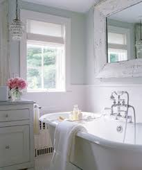 shabby chic lighting for bathroom. shabby chic cottage bathroom marble countertops counter tops and glass crystal light pendants! how pretty is this bathroom? lighting for l