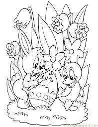 Free Printable Easter Coloring Pages Coloring Home