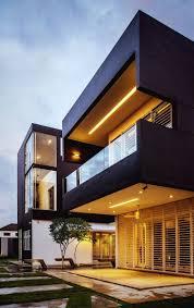 Interesting house exterior design in Kulai, Malaysia.