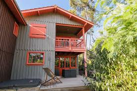 bâtiment de la maison de vacances