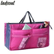 dropwow ladsoul multi function makeup organizer bags women cosmetic bags big size makeup bag good quality make up toiletry bags lm2136 g