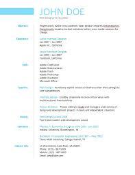 simple resume   easiest online resume buildertemplate