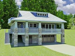 garage nice house plans hillside 10 image of home with garage underneath design a view