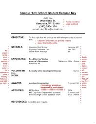 resumes sample for high school students resume samples for high school students with no experience 7