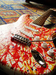 the world s best photos of guitar and wiring flickr hive mind strat project original finish mikeriddle1984 tags electric wiring guitar spray pinkfloyd fender