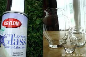 looking glass spray paint making faux mercury glass with looking glass mirror paint looking glass spray