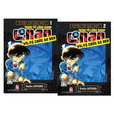 Combo Truyện - Thám Tử Lừng Danh Conan - VS. Tổ Chức Áo Đen ( Tập 1 & Tập 2  ) chính hãng 68,000đ