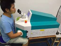 laser soldering machine jewelry tools and equipment table spot welding machine for solder