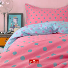 ikea duvet covers blue polka dot