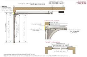 Appealing Standard Single Garage Door Ideas Size Uk Sectional Type ...