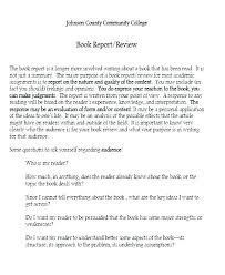 Book Report Outline College Level Book Review Template College Report For Outline Best Photos