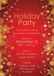 Template For Christmas Party Invitation Holiday Party Invitation Template Ingeniocity Co