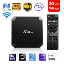 X96 Mini Android TV BOX X96mini Android 7.1 Smart TV Box 2GB 16GB Amlogic  S905W Quad Core 2.4GHz WiFi Set Top Box 1GB 8GB Rgb To Vga Converter Tv  Sticks From Miraclecountry,