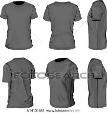 shirt design templates clipart of mens black short sleeve t shirt design templates