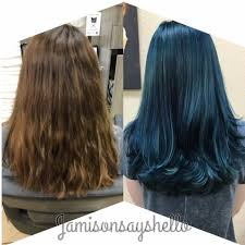 Beautiful Green Goddess Hair Transformation News