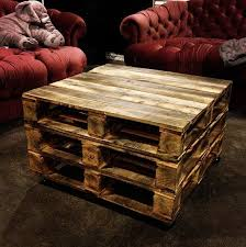 Coffee Table Vintage Style Pallet Coffee Table With Diy Video Pallet Coffee Table Etsy