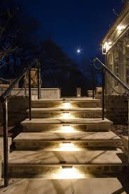 stair tread lighting. Low Voltage Outdoor Step Lighting New Stair Railing Menards Kits Canada Treads Home Tread