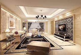 Living Room Remodel Classy LovelymodernlivingroomwallpapercreativerDesignIdeasFor