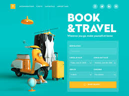 Booking Website Design Inspiration Web Design Inspiration 9 Web Interfaces With Catchy Graphics