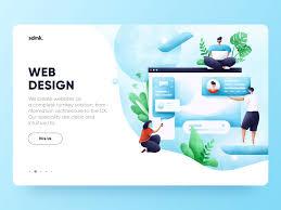 Web Design Dribbble Web_design Jpg By Krestovskaya Anna